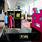juegos arcade aeropuerto
