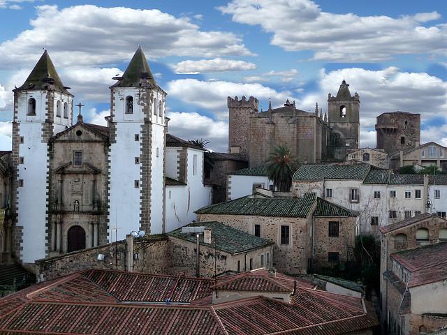 Cáceres centro histórico